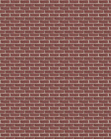 Download Dollhouse Wallpaper Brick 60 Miniature Printables Simple Brick Pattern Paper