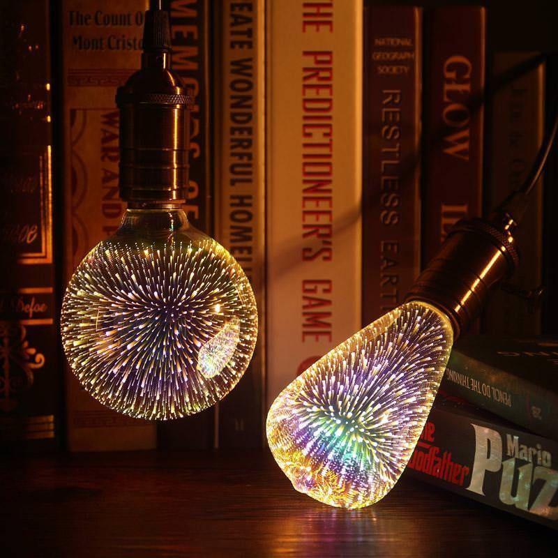 3d Galaxy Bulb Light Led Star Shine Bubble Decoration Novelty Christmas 360 Lamp 3dgalaxychina Livingroom Light Bulb Led Light Bulb 3d Led Light