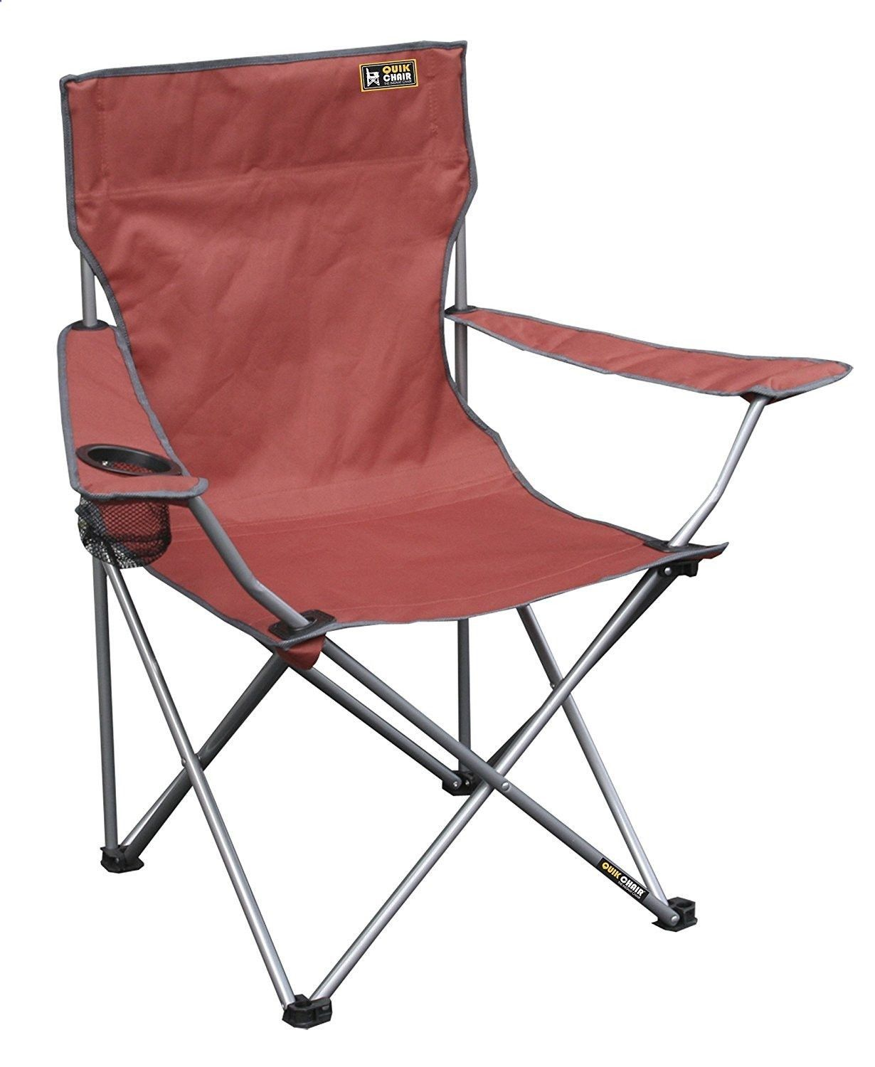Camping Chairs Merica Red Folding Quad Camp Chair
