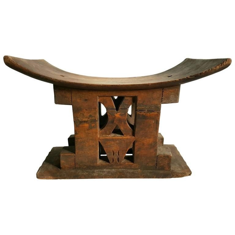 stool chair ghana what height should a rail go african ashanti wood circa 1920s africa pinterest from unique collection of antique