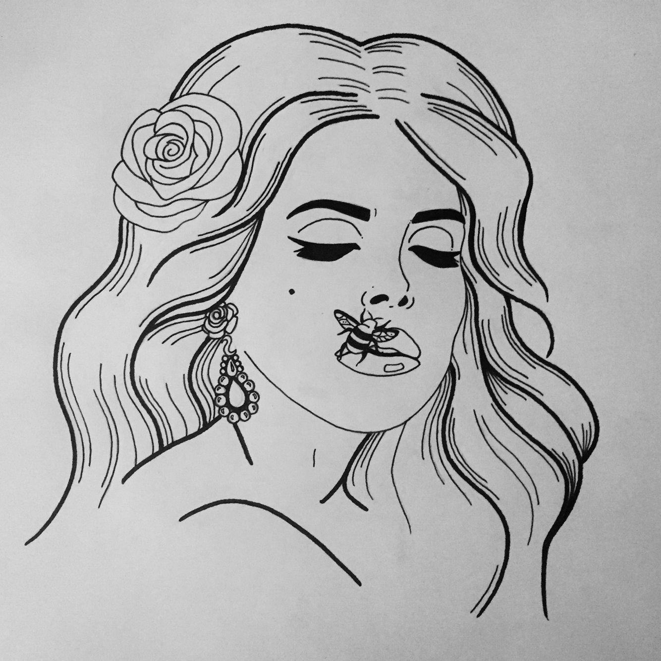 Lana Del Rey Lana Del Rey Art Art Sketches Sketches