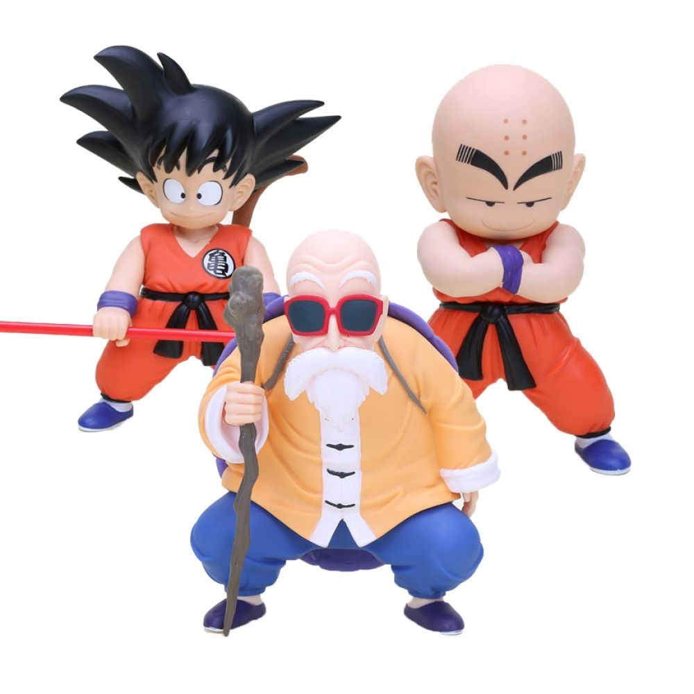 Dragon Ball Z Master Roshi /& Oolong Action Figures DBZ Collectible Toy with Box