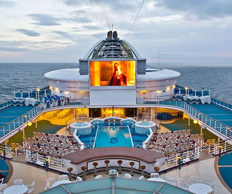 The Worlds Most Unique Cruise Ship Features Cruise Ships And Cruises - Cruise ship movie