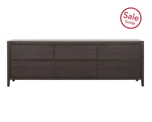 Annick Low 6 Drawer Dresser