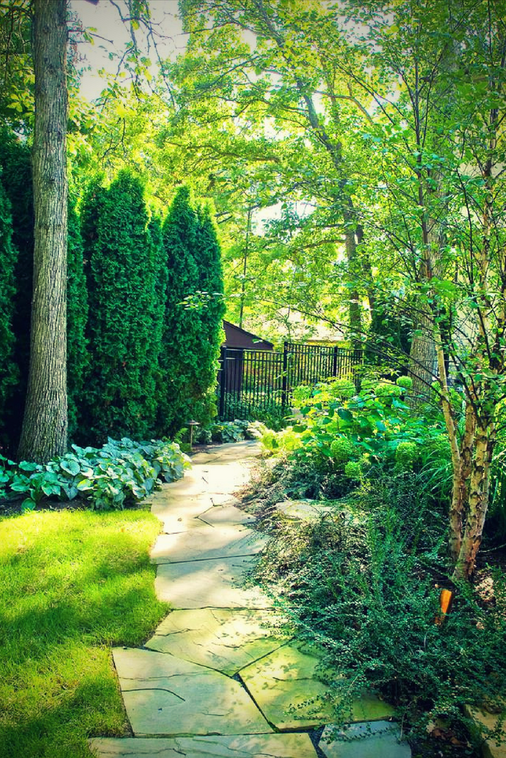 7 Eco Friendly Landscape Design Tips Prunin S Blog Privacy Landscaping Small Backyard Landscaping Traditional Landscape