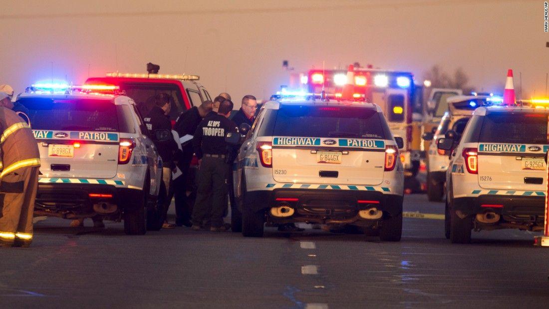 Motorist Who Used Hurt Trooper S Radio We Were There For A Reason Cnn Trooper Arizona Motorist