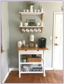 21 Diy Coffee Bar Cabinet Ideas For The Perfect Cup 00004 In 2020
