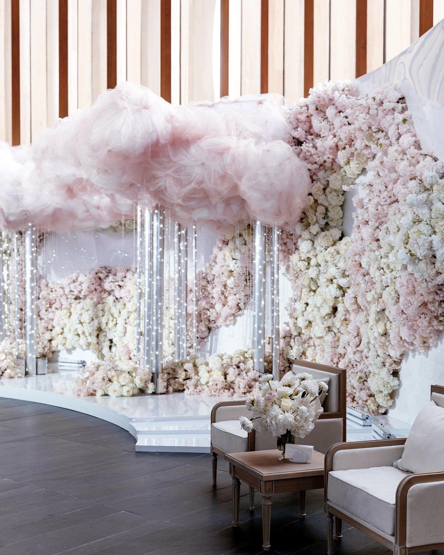 Flowers Wedding Engagement Event Magical Party Decor Ideas