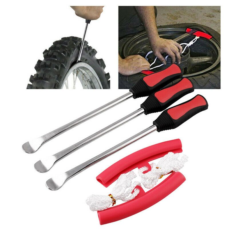 Car Motorcycle Tire Spoons Lever Change Guard Rim Protector Accessories Tools