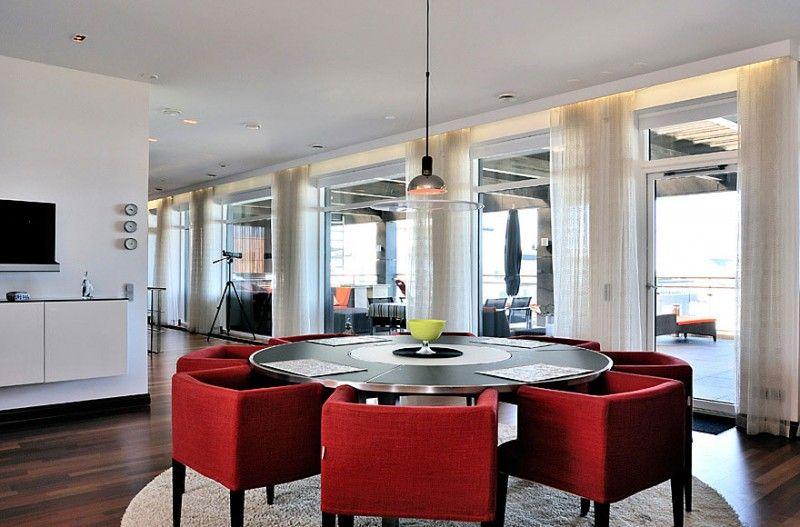 Awesome Scandinavian Design: Beautiful Duplex Penthouse In Malmö, Sweden