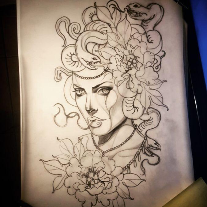 Sleeve Tattoo Generator: Medusa Tattoo, Medusa Tattoo Design, Tattoo