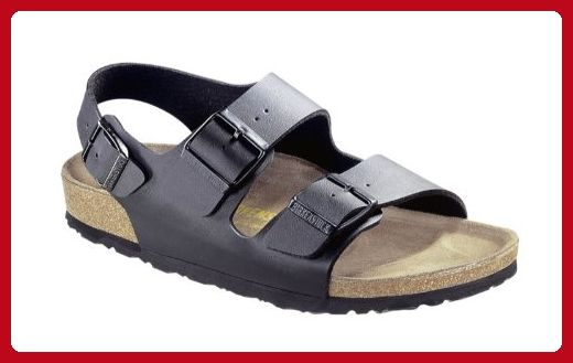 Birkenstock Milano Sandals Birko-Flor regular - Black - Birko-Flor (40 M  EU) - Mens world ( Amazon Partner-Link) 3bbb2ed51ef