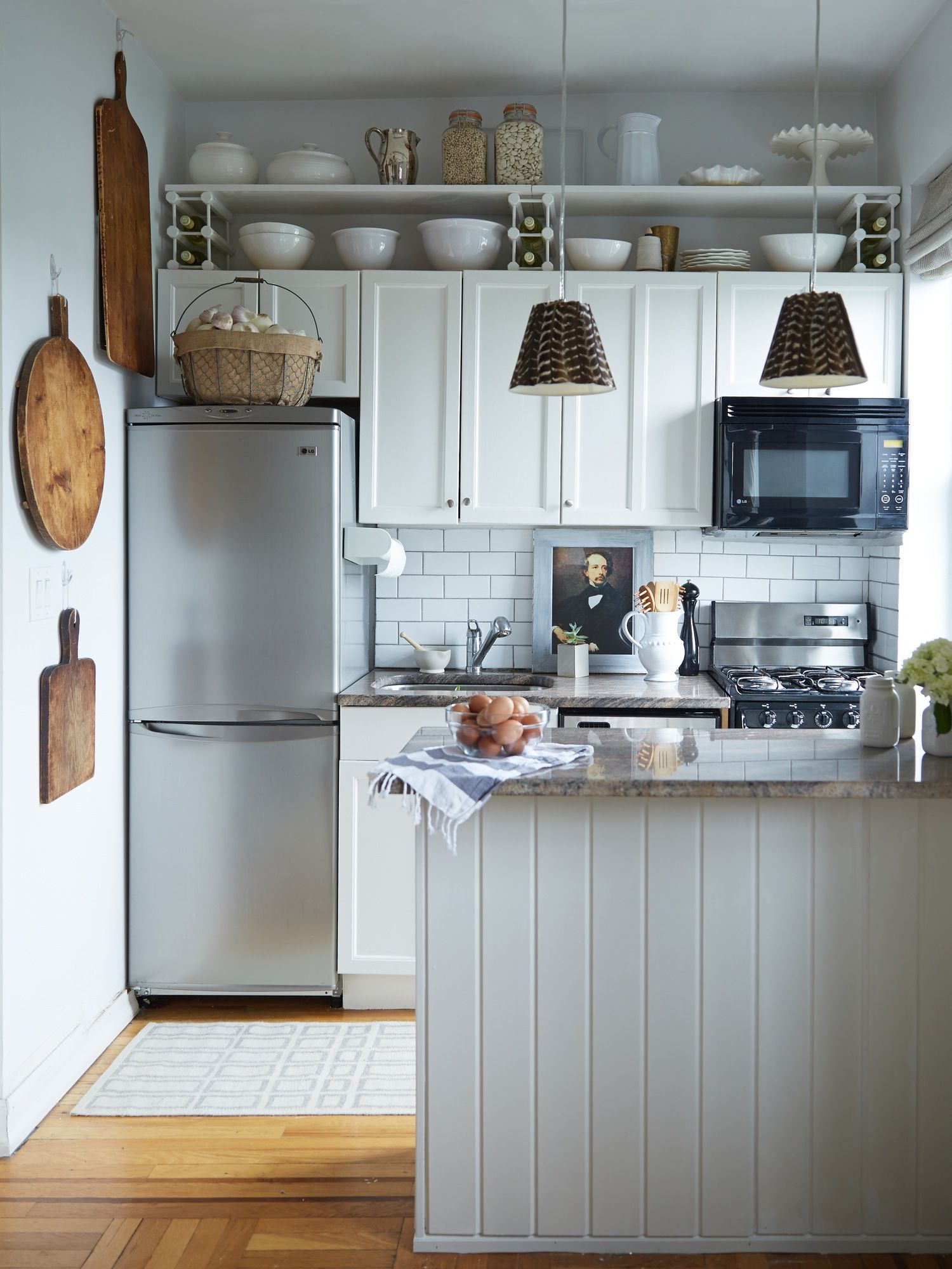 9 Perfect Places to Put Shelves in a Small Space | Small spaces ...