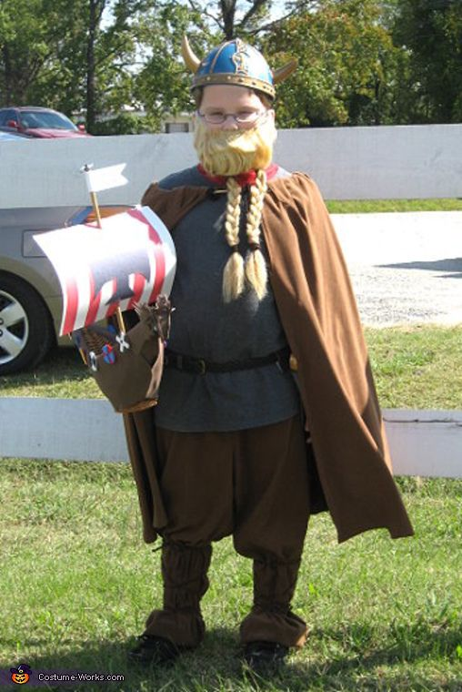 Viking - Homemade costumes for boys