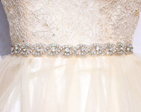 all around bridal belt wedding sashes and belts by xlittlebee