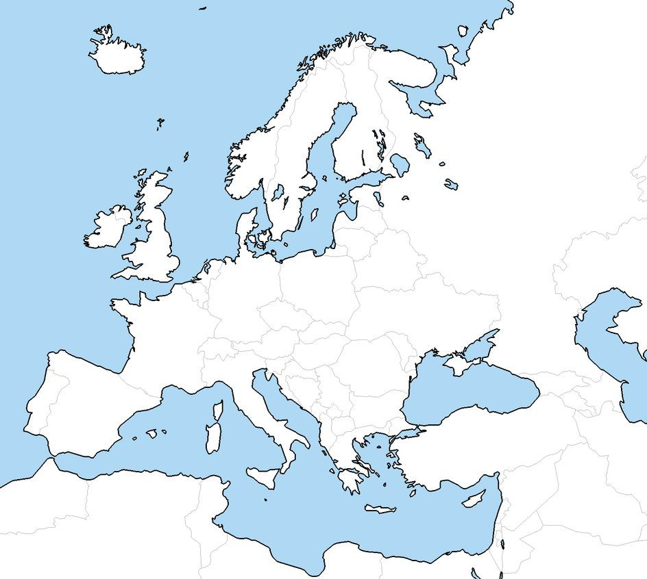 blank world european map Yahoo Image Search results Geography