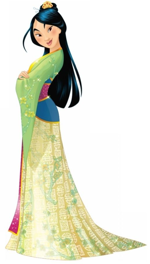 Disney Princess Sparkle MULAN (1998)