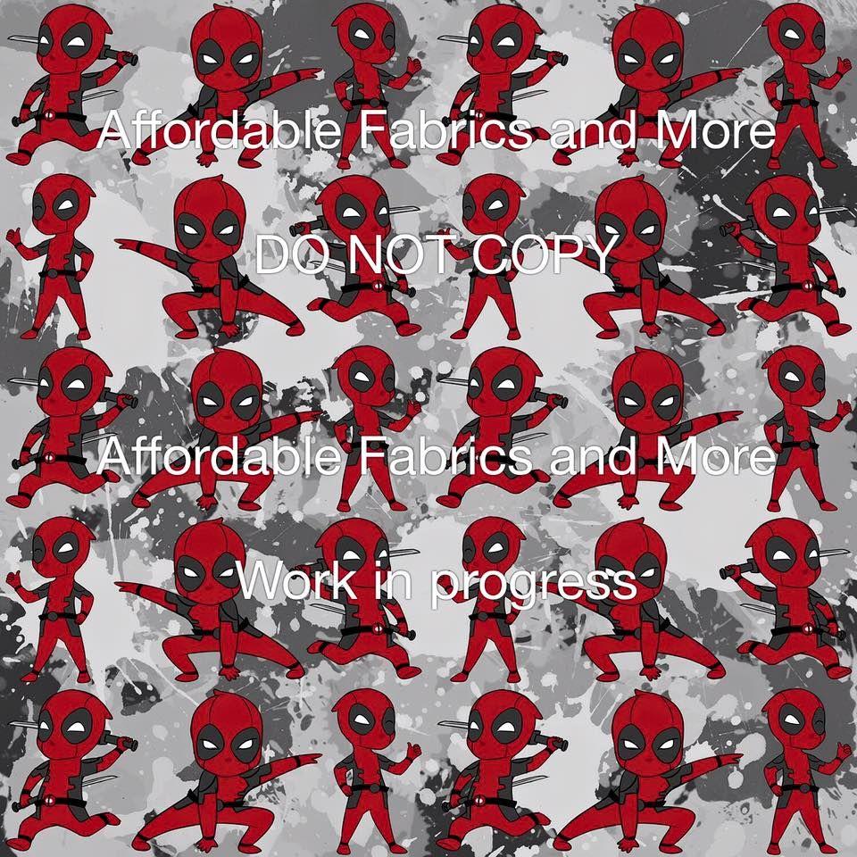 Affordable Textiles Baby Deadpool 955 Cotton Lycra