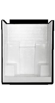 Florestone Model 60 3wtb Fiberglass Shower Fiberglass Shower