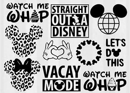 Image Result For Free Disney Svg Auntie Files For Cricut Disney Silhouettes Disney Scrapbook Disney Clipart