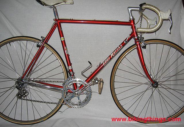 929199f12e3 eddy-merckx-vintage-red-bike columbus steel merckx frame | Flickr - Photo  Sharing!