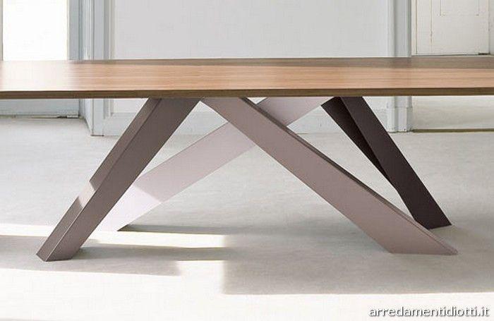 Piedi tavolo ~ Big table tavolo moderno gambe colorate big g
