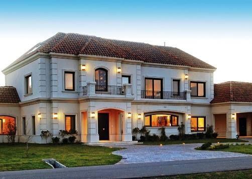 Fachadas de casas clasicas fachada casas de estilo clsico - Fachadas clasicas ...