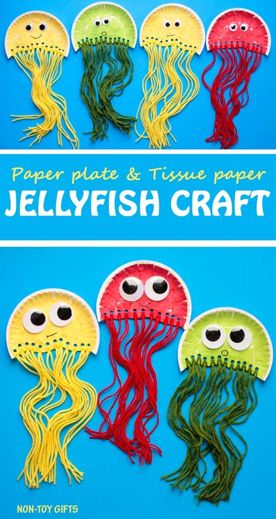 20 Creative Animal Crafts to Do with Your Kids #animalcrafts