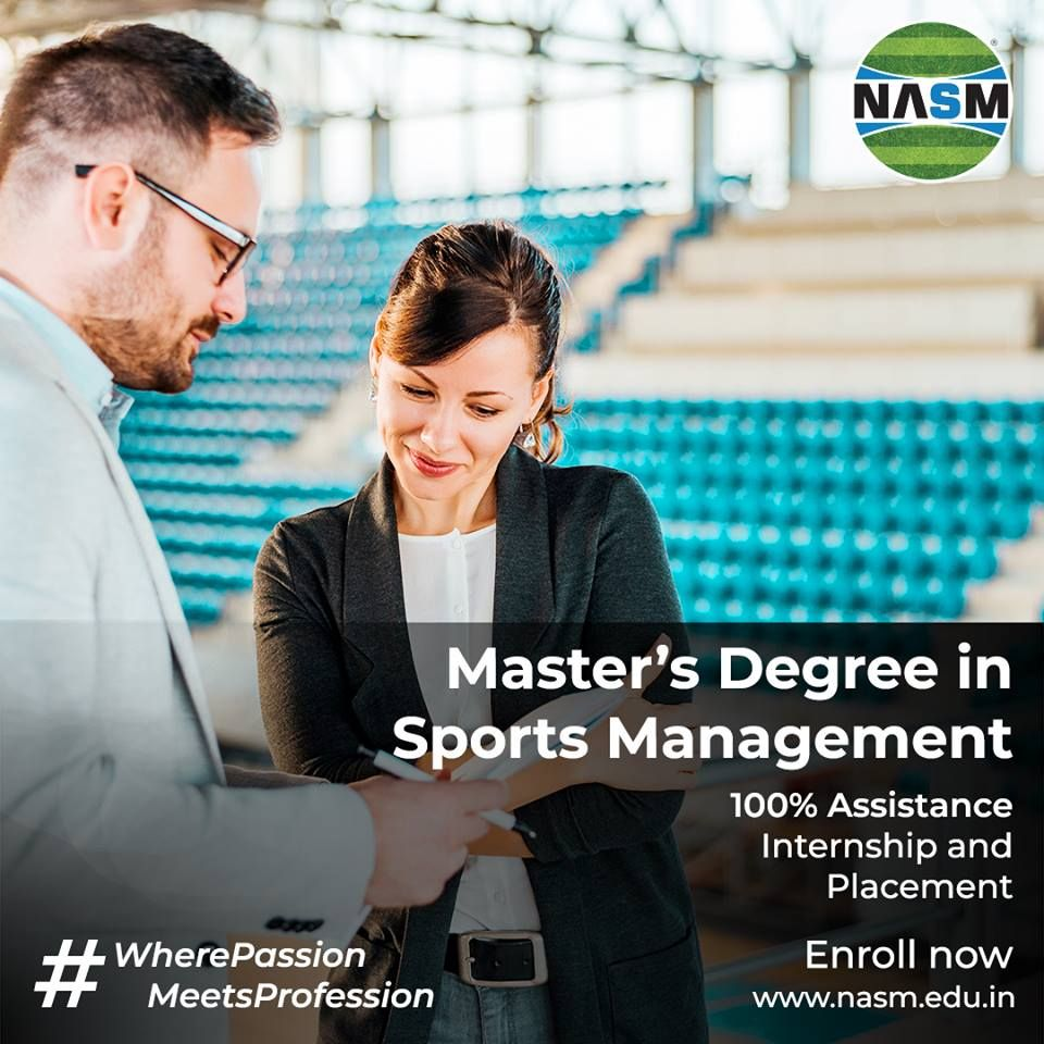 Pin by NASM EDU on NASM Best Sports Management Institute