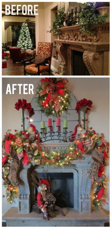 Show Me Decorating Christmas Decorations Rustic Christmas