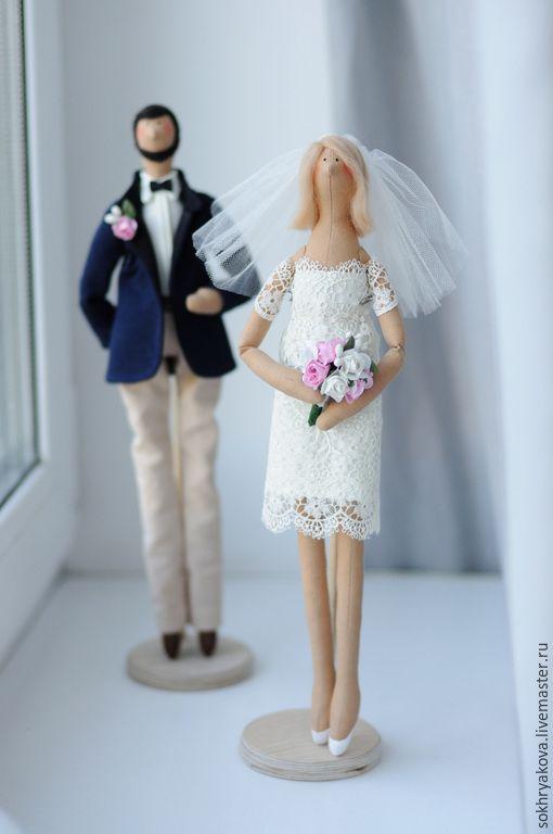 Кукла в подарок на свадьбу 609