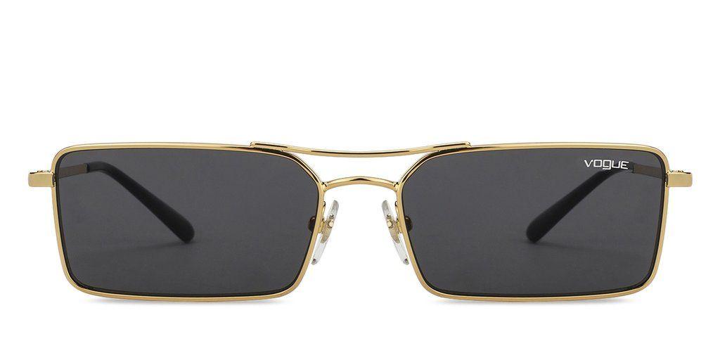 927d9ddf8f Vogue VO4106S Large (Size-55) Golden Black Grey 280 87 Unisex Sunglasses