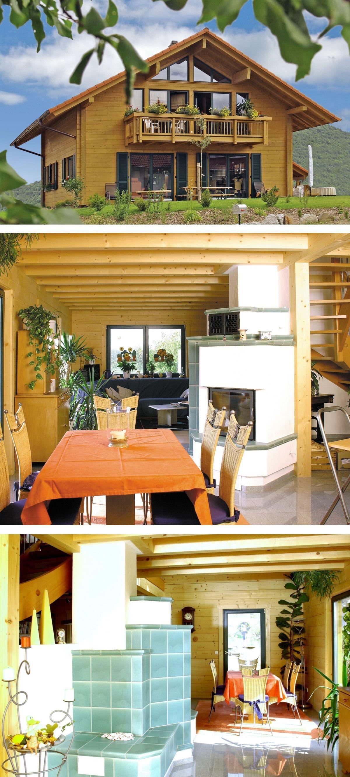 Modernes Landhaus im Alpenstil mit Satteldach Architektur