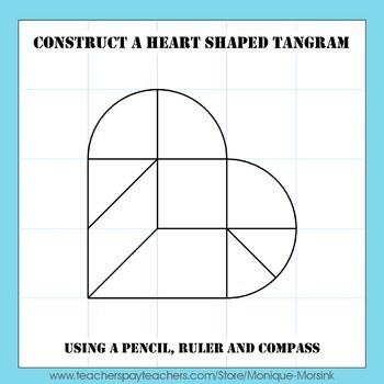 Tangram Construction How To Construct A Heart Shaped Tangram 2