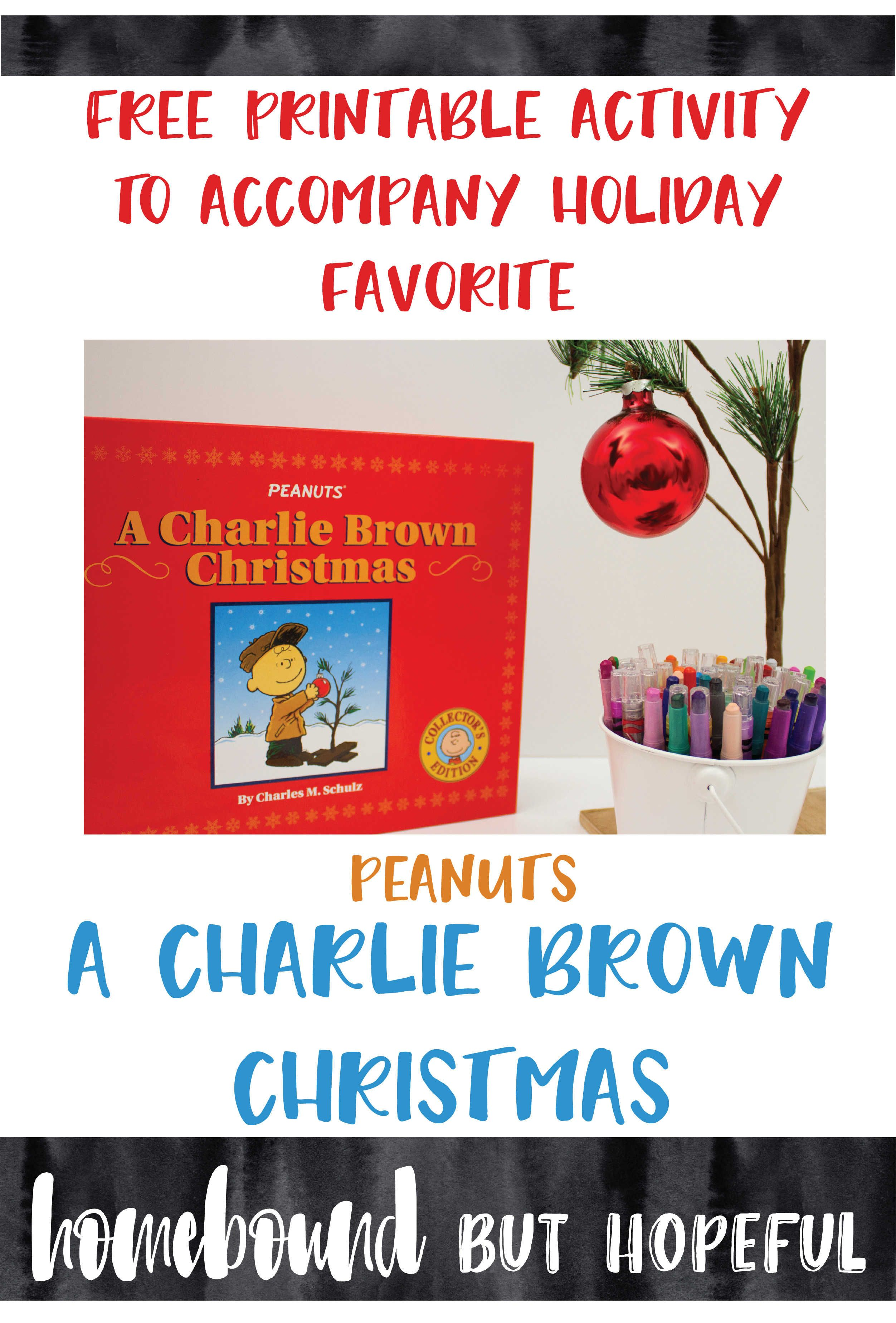 Holiday Math With A Charlie Brown Christmas Includes