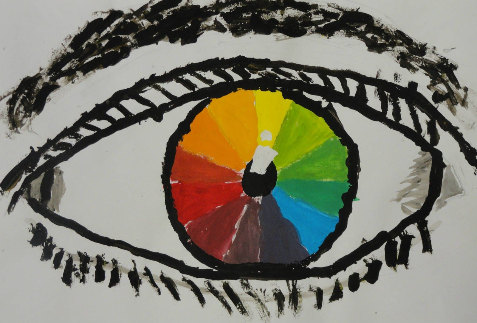 The smARTteacher Resource: Color Wheel Eyes