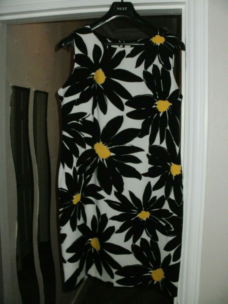 Size UK 14 NEW QVC Ronni Nicole Flower Print Dress