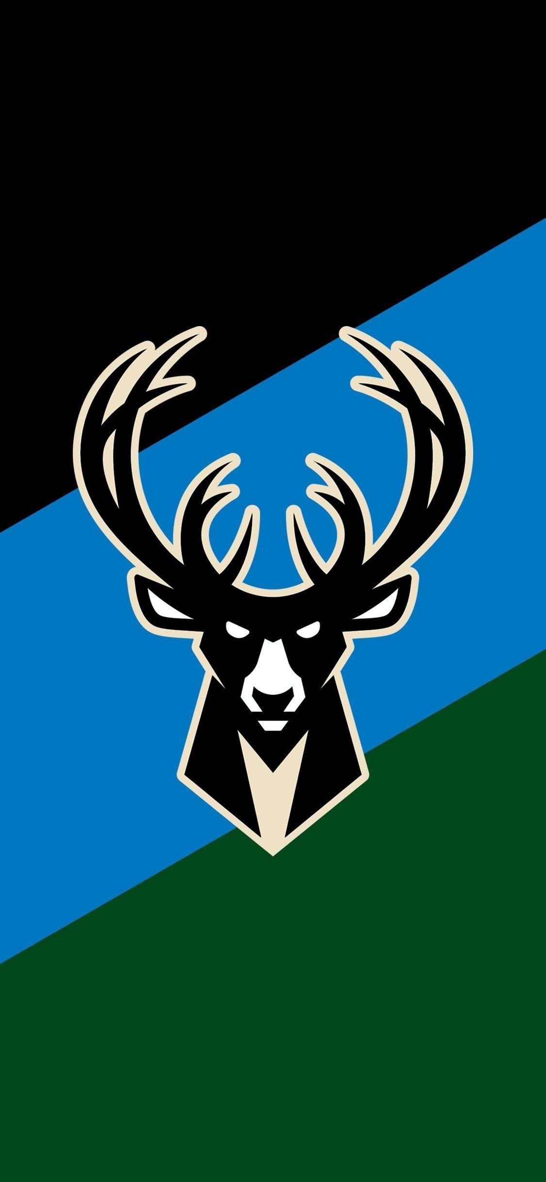 Milwaukee Bucks Wallpaper Milwaukee Bucks Bucks Logo Nba Basketball Art