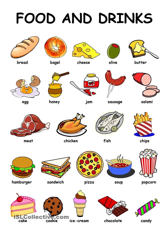 Открытки для, картинки с надписью еда по английскому