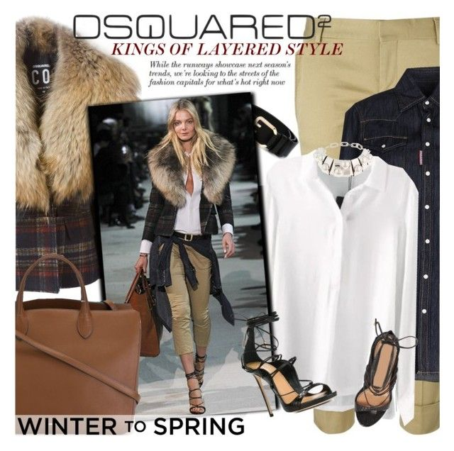 """""""Kings of layered style - DSQUARED2"""" by anita-n ❤ liked on Polyvore featuring Dsquared2 and Jil Sander"""