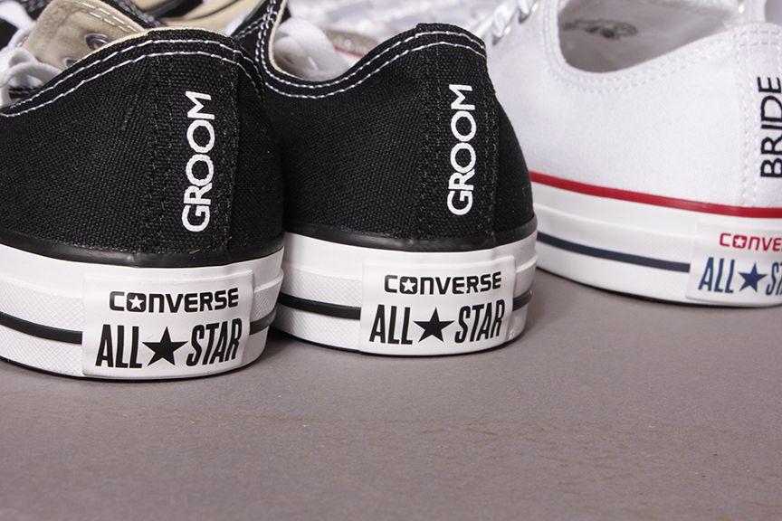 8603b45b51069 Groom Wedding Converse by Dead Fresh #Converse #Groom #Wedding ...