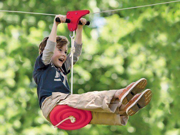 Slackers: Zipline Kits in 2020   Zip line backyard ...