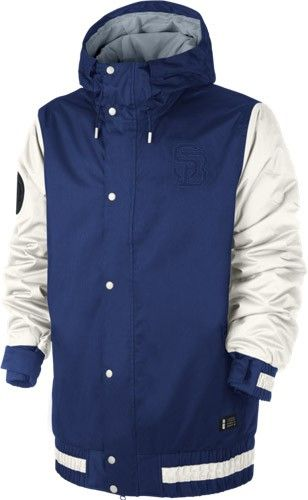 6803dc397f10 Nike Hazed Jacket - Royal Blue Snowboard Equipment