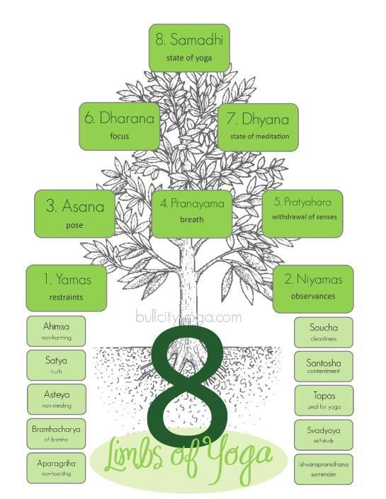 Infographics 8 Limbs Of Yoga Eight Limbs Of Yoga Ashtanga Yoga