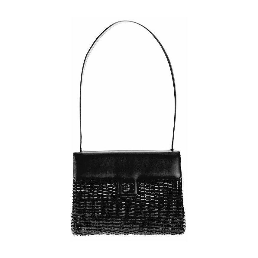 283550ef7db0 Chanel leather and wicker vintage sling bag a rare Chanel collectors item  excellent condition with tags and ID card asking  1300 comment for more ...