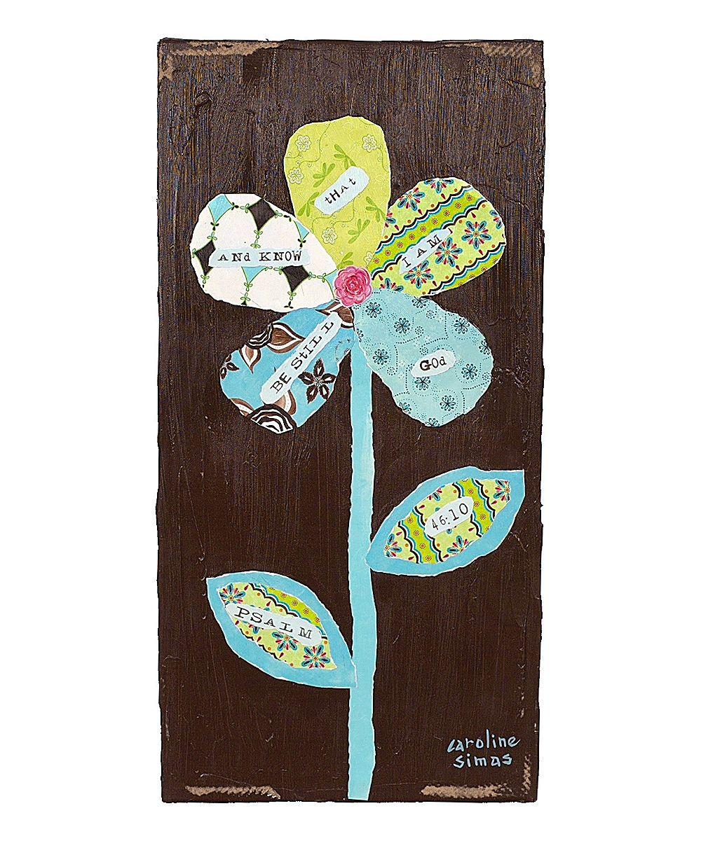 Flower handpainted paper u canvas wall art something special