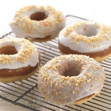 Gluten-Free Classic Baked Doughnuts: Indulge in this classic treat once again. Hot coffee is optional. #TadaMoments