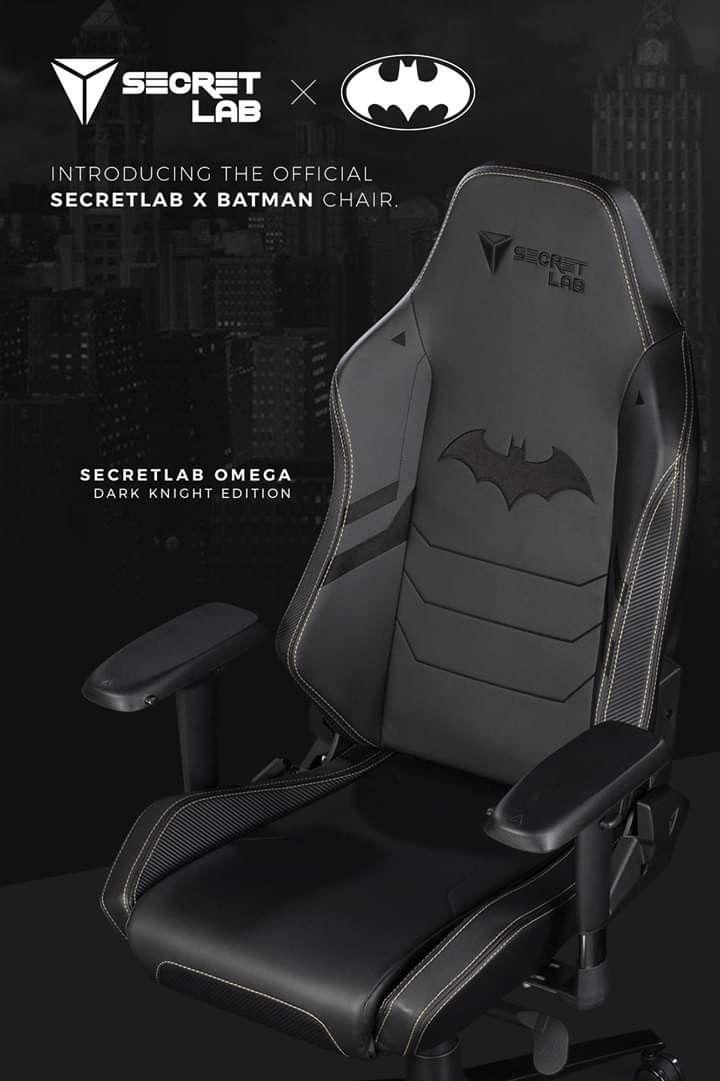 Batman gaming chair secret lab with images batman