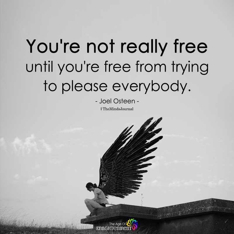 You're Not Really Free | Freedom quotes, Feeling free quotes, Freedom quotes  life