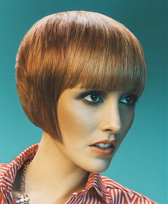 Amparo Fernández Short Blonde Hairstyles